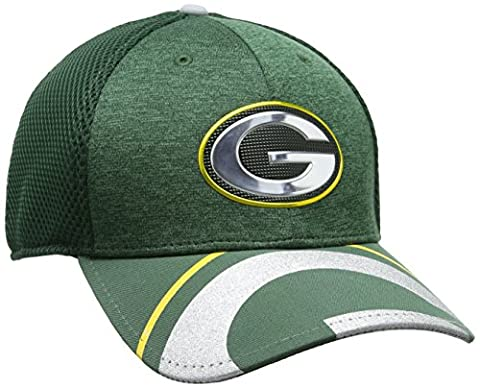 New Era NFL 17 Official On Stage 39Thirty Green Bay Packers, Casquette de Baseball Homme, Green (Green), Large