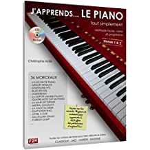 J'apprends... LE PIANO tout simplement Niveau 1&2 C. Astie + CD