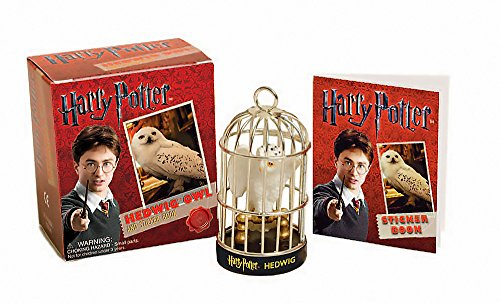 Harry Potter Hedwig Owl Kit and Sticker Book (Miniature Editions) -