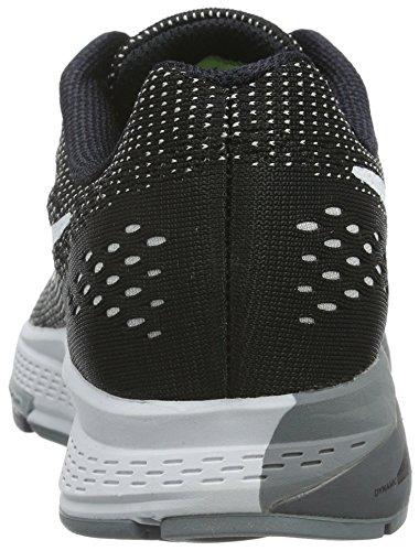 Nike Air Zoom Structure 19, Chaussures de Running Compétition Femme Noir (Black/White/Dark Grey/Cool Grey)