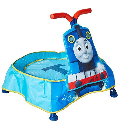 Worlds Apart Trampolin für Kinder von Thomas, die kleine Lokomotive, für Innenräume, mit Sounds von KidActive