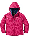 Jack Wolfskin Kinder Floating Ice Jacket Kids Jacke Wattiert, Pink Raspberry, 164