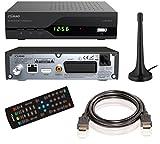 COMAG SL30T2 FullHD HEVC DVBT/T2 Receiver ) inkl. DVB-T2 Antenne