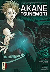 Psycho-pass Inspecteur Akane Tsunemori Edition simple Tome 3