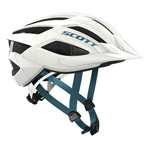 Scott Arx MTB Fahrrad Helm weiß/türkis 2018: Größe: M (55-59cm)