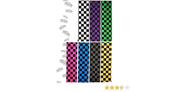 """JD Bug Checks Grit MGP Scooter Grip Tape PRE CUT- 16.5/"""" x 4.5/"""" will fit Slamm"""