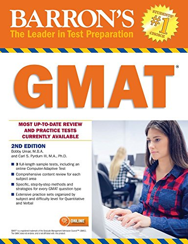 Barron's GMAT with Online Test