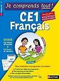 Telecharger Livres Je comprends tout Francais CE1 Nouveau programme 2016 (PDF,EPUB,MOBI) gratuits en Francaise