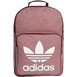 Adidas Bp Class Casual Mochila tipo casual, 25 cm, 25 litros, Buruni/Blanco