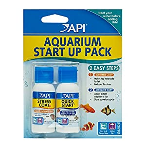 API AQUARIUM START UP PACK Water Conditioner 37 ml Bottle 2-Pack