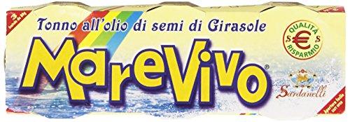Marevivo - Sardanelli, Tonno all'Olio di Semi di Girasole - 240
