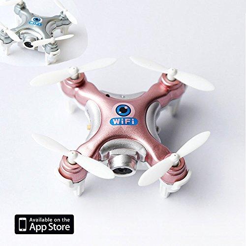 zqmd Echtzeit-Übertragung WiFi Drone RC Quadrocopter Höhe Desist App mit Kamera 2,4G Gyro Mini Drone