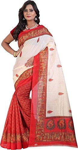 Harikrishnavilla(Sarees For Women Party Wear Half Sarees Offer Designer Bhagalpuri Silk New...