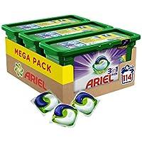 Ariel 3in1 PODS Colorwaschmittel - 114 Waschladungen - Vorratspack (3 x 38 Wäschen)