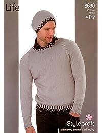 289152900 Stylecraft Ladies Cardigan Swift Knit Pattern 9069 Super Chunky by  Stylecraft · £31.82 · Stylecraft 8690 Knitting Pattern Mens Sweater and Hat  in Stylecraft ...