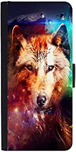 Snoogg Wolf of heartsDesigner Protective Flip Case Cover For One Plus One