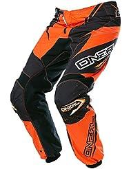 O'NEAL Element RACEWEAR Pantalon pour enfant noir orange Youth Motocross MX DH Offroad, 0128–42