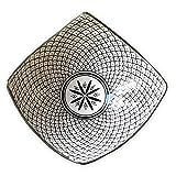 Marokkanische Obstschale | bunte marokkanische Keramik Schale bunt aus Marokko | Große Keramikschalen flach Geschirr aus dem Orient handbemalt