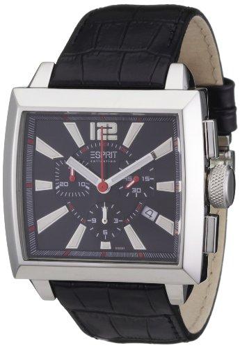Esprit EL101031F01 - Reloj de cuarzo para hombres, color negro