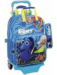 Preisvergleich für Finding Dory, Kinder Kinderrucksack Azul y Amarillo 42 cm