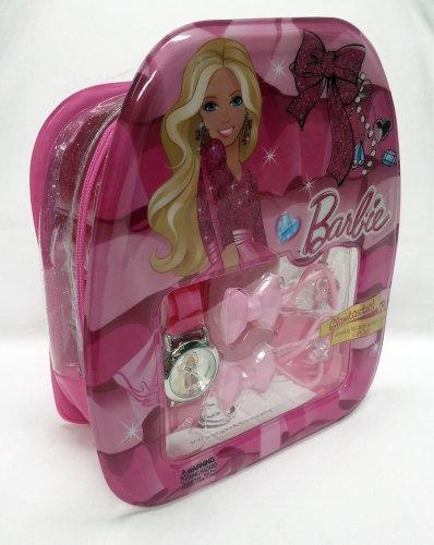 Barbie Glamtastic! Analog Watch & Hair Ties Gift Set