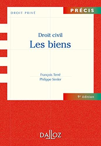 Droit civil.Les biens - 9e éd.