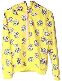 KPOP GOT7 Mark Just Right MV Cap Hoodie BTS Bangtan Boys Jungkook Unisex Sweatshirt Doughnut [One Size Fits All]