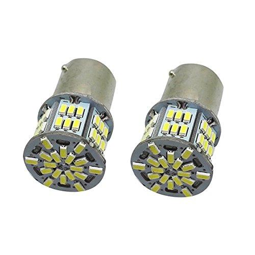 Preisvergleich Produktbild WINOMO 2stk 1156 3014 54 SMD Chipsätze Led Lampe für Rücken auf rückwärts Leuchten Bremsleuchten (weiß)