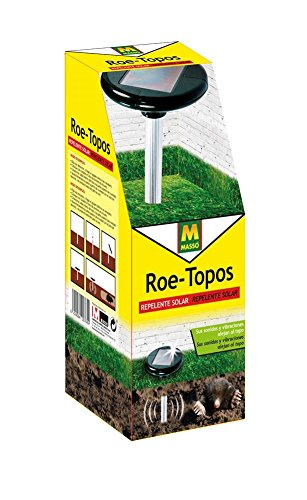 roe-231458-repelente-solar-para-topos-155-x-35-x-155-cm-color-negro