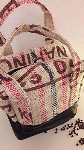 Bowlingtasche (groß) aus Kaffeesäcken