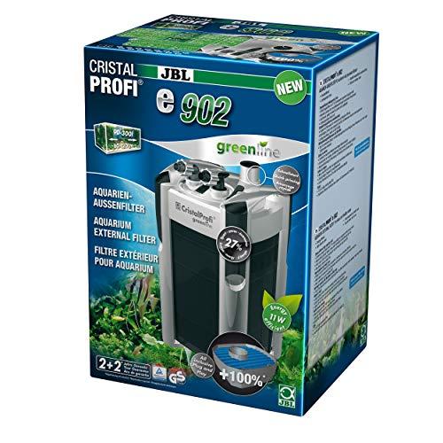 JBL Außenfilter für Aquarien von 90-300 Litern, CristalProfi e902 greenline