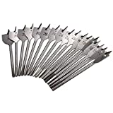 #3: 11-38mm Wood Flat Drill Bits Hex Shank Woodworking Spade Drill Bits