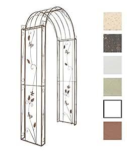 clp rosenbogen flowers aus beschichtetem eisen rankhilfe. Black Bedroom Furniture Sets. Home Design Ideas