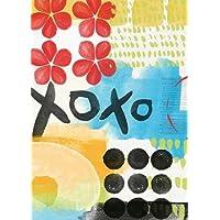 Astratto XOXO da boschi, Linda–stampa fine art