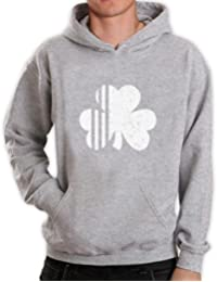 Saint Patrick's Day Irish Shamrock Four-Leaf Clover Hoodie