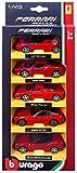Burago Pack 5coches Ferrari 1/43eme