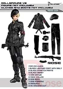 Again! Dolls Figure 1/6 figures for women leather army costume set [DOLLSFIGURE CC157] genuine (japan import)