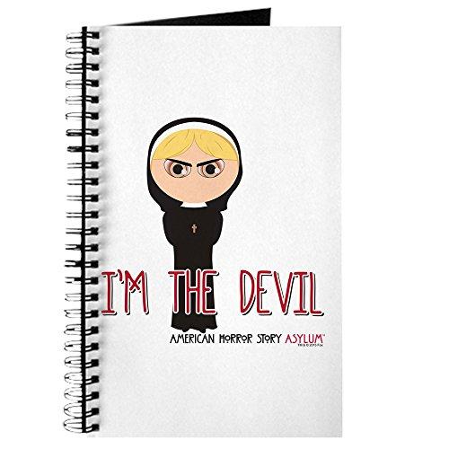 CafePress-American Horror Story Chibi Schwester Mary-Spiralbindung Journal Notizbuch, persönliches Tagebuch, blanko