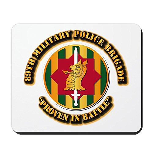 CafePress–Army–SSI–89th Military Police Brigade–rutschfeste Gummi Mauspad, Gaming Maus Pad