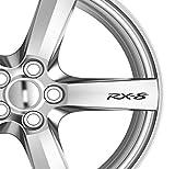 6x RX-8Alufelgen Aufkleber Aufkleber Kleber Premium Qualität Auto Aufkleber