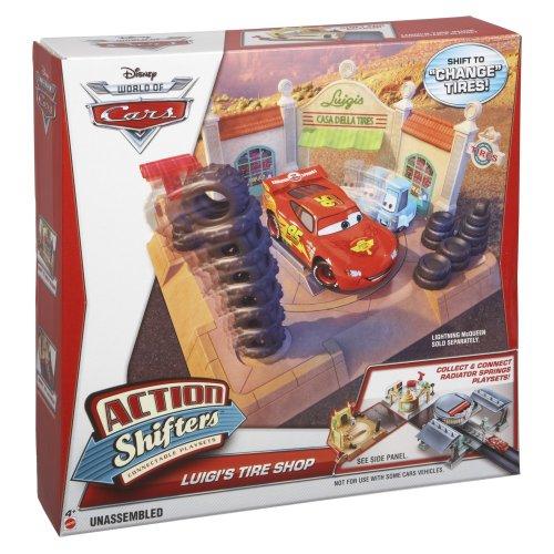Mattel BDF78 - Disney Cars Luigis Reifenshop (Disney Cars Spielset)