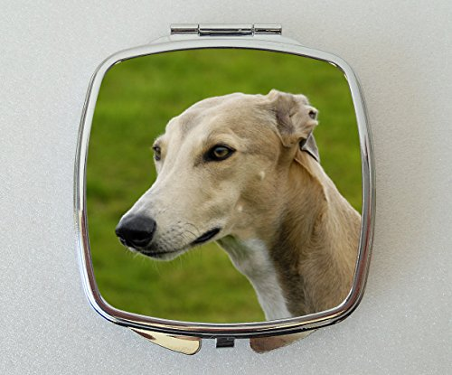 Starprint Sublimation Greyhound Dog Miroir de Poche Fantaisie Cadeau