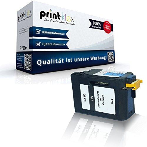 Rebuilt Fax-patrone (kompatible Tintenpatrone für Canon FaxBX 3 B100 B110 B110Series B115 B120 B140 B150 B150Series B155 B170 B190 B540 B550 B640 B820 B840 Black BK BX 03 - Eco Office Serie)
