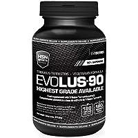 Evolus 90 de HSN Sports- Tribulus Terrestris 90% Saponinas, Aumento de Masa Muscular, Aumento de tus niveles de Testosterona, Aumento de la Líbido - 180 Capsulas