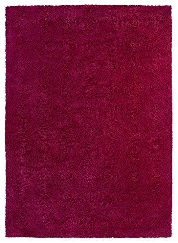 Sona-Lux alfombra de nudos mano rosa 'Seleccionar el tamaño' 170 x 240 cm