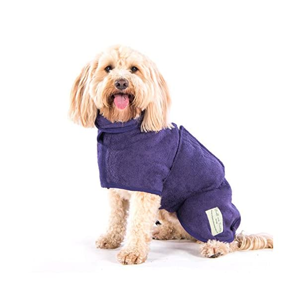 Ruff and Tumble Dog Drying Coat - Classic Collection 8