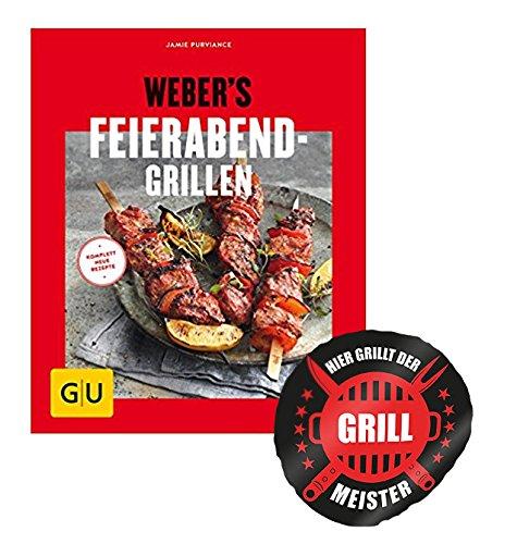 Weber's Feierabend-Grillen -Grillgenuss in 30 Minuten +Grillmeister Sticker by Collectix