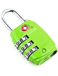 DonDon candado de viaje TSA Travel Sentry Approved / candado de equipaje - diferentes colores seleccionable