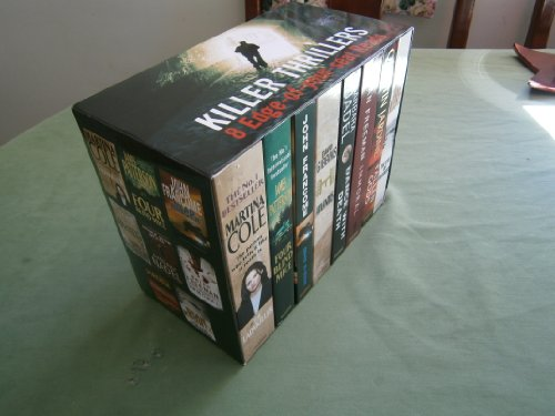 KILLER THRILLERS 8 BOOK BOX SET OF EDGE OF YOUR SEAT READS