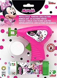 Minnie Mouse- Pistola Bolle, 60 ml (Dulcop 69500064500)